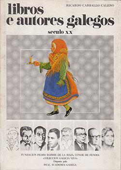 Cuberta para Libros e autores galegos: século XX (v.II)