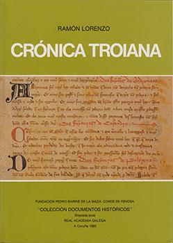 Cuberta para Crónica troyana: introducción e texto