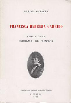 Cuberta para Francisca Herrera Garrido: vida e obra, escolma de textos